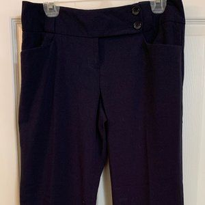 Navy Limited brand Drew fit trousers